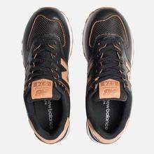 Женские кроссовки New Balance WL574WNH Black/Brown фото- 5