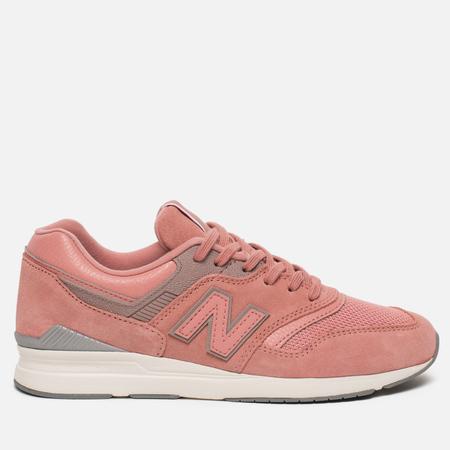 Женские кроссовки New Balance WL697CM Leather Pink