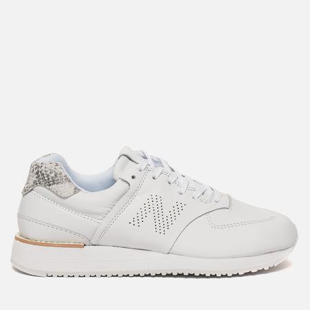 Женские кроссовки New Balance WL745SW Leather White