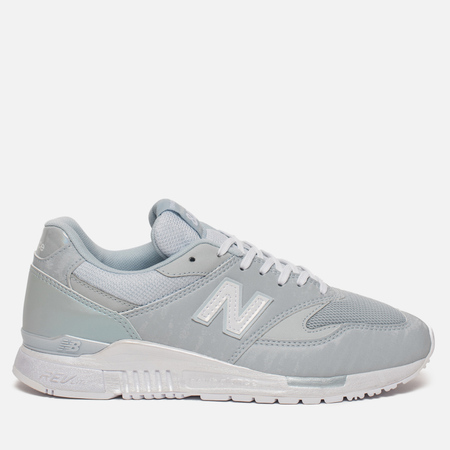 Женские кроссовки New Balance WL840PB Suede Light Porcelain Blue/White