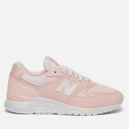 Женские кроссовки New Balance WL840PP Suede Sunrise Glo/White