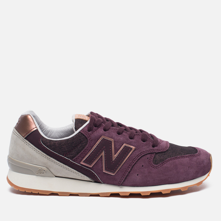 Женские кроссовки New Balance WR996GAH NB Grey Pack Purple