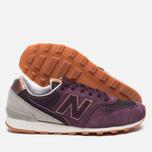 Женские кроссовки New Balance WR996GAH NB Grey Pack Purple фото- 1