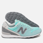 New Balance WR996GF Women's Sneakers Blue photo- 2