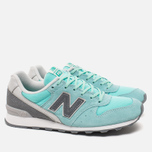New Balance WR996GF Women's Sneakers Blue photo- 1