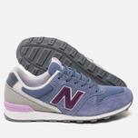 Женские кроссовки New Balance WR996GG Blue/Purple фото- 2