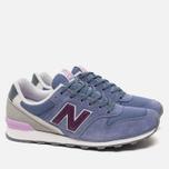 Женские кроссовки New Balance WR996GG Blue/Purple фото- 1