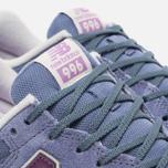 Женские кроссовки New Balance WR996GG Blue/Purple фото- 5