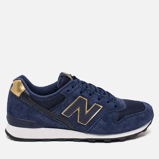 Женские кроссовки New Balance WR996HC Navy/Gold