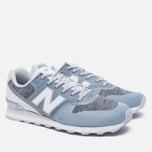 Женские кроссовки New Balance WR996NOA Blue/White фото- 2