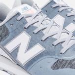 Женские кроссовки New Balance WR996NOA Blue/White фото- 5
