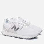 Женские кроссовки New Balance WRL247SA Whiteout Pack White фото- 2