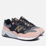 Женские кроссовки New Balance WRT580CE Black/Pink фото- 2