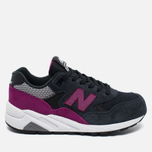 Женские кроссовки New Balance WRT580KG Navy Blue/Purple фото- 0