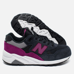 Женские кроссовки New Balance WRT580KG Navy Blue/Purple фото- 1