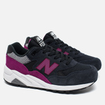 Женские кроссовки New Balance WRT580KG Navy Blue/Purple фото- 2