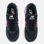 Женские кроссовки New Balance WRT580KG Navy Blue/Purple фото- 4