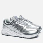 Женские кроссовки New Balance WRT580MS Silver/White фото- 2