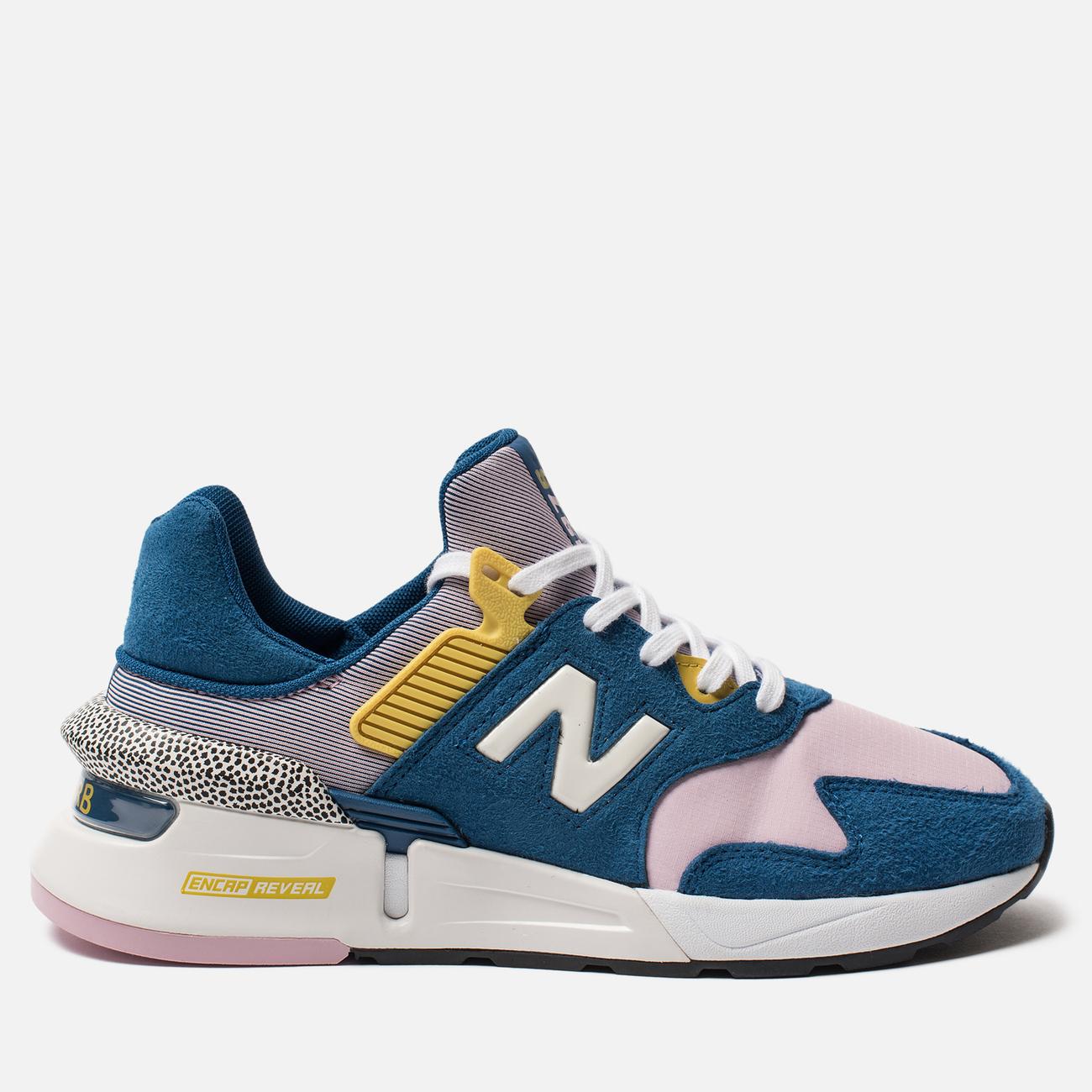 Женские кроссовки New Balance WS997JCE 997 Sport Blue/Pink