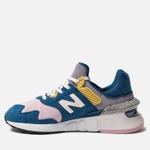 Женские кроссовки New Balance WS997JCE 997 Sport Blue/Pink фото- 1
