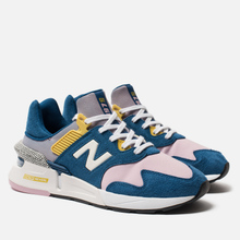 Женские кроссовки New Balance WS997JCE 997 Sport Blue/Pink фото- 2