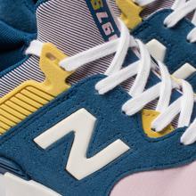 Женские кроссовки New Balance WS997JCE 997 Sport Blue/Pink фото- 6