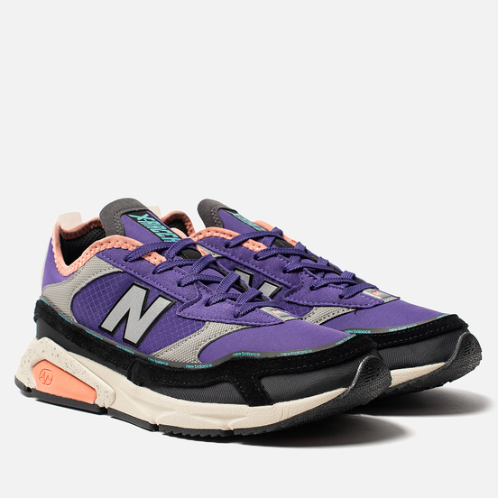 Женские кроссовки New Balance WSXRCRQ X-Racer Purple/Orange