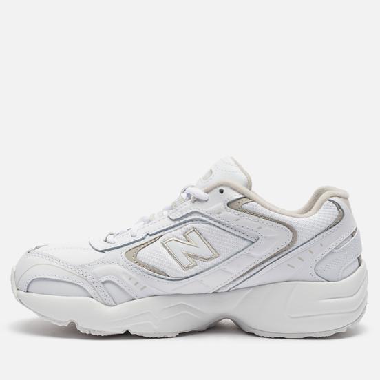 Женские кроссовки New Balance WX452SG White/Grey