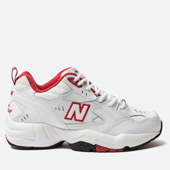Женские кроссовки New Balance WX608TR1 White/Red