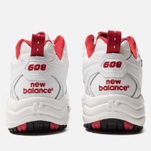 Женские кроссовки New Balance WX608TR1 White/Red фото- 3