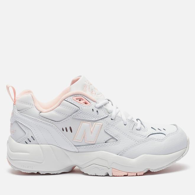 Женские кроссовки New Balance WX608WI1 White/Pink