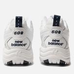 Женские кроссовки New Balance WX608WT White/Navy фото- 5