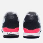 Женские кроссовки New Balance x Bergdorf Goodman x Neiman Marcus WR996BG2 Grey/Pink/Black фото- 3