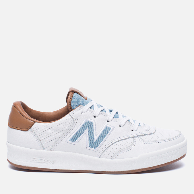 Женские кроссовки New Balance x Bergdorf Goodman x Neiman Marcus WRT300BW White/Blue/Brown