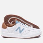 Женские кроссовки New Balance x Bergdorf Goodman x Neiman Marcus WRT300BW White/Blue/Brown фото- 1