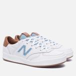 Женские кроссовки New Balance x Bergdorf Goodman x Neiman Marcus WRT300BW White/Blue/Brown фото- 2