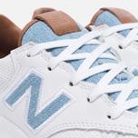 Женские кроссовки New Balance x Bergdorf Goodman x Neiman Marcus WRT300BW White/Blue/Brown фото- 5