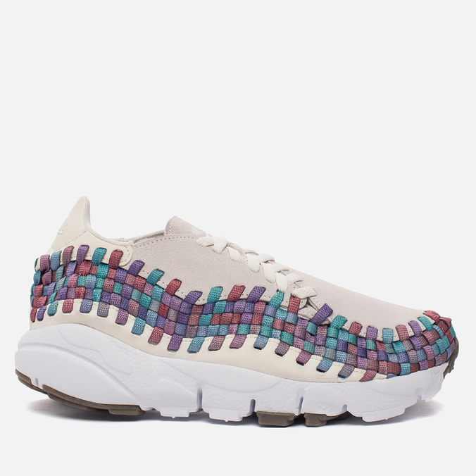 Женские кроссовки Nike Air Footscape Woven Sail/White/Red Stardust/Orchid Mist