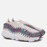 Женские кроссовки Nike Air Footscape Woven Sail/White/Red Stardust/Orchid Mist фото- 1