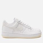 Женские кроссовки Nike Air Force 1 '07 Ess White/White/White фото- 0