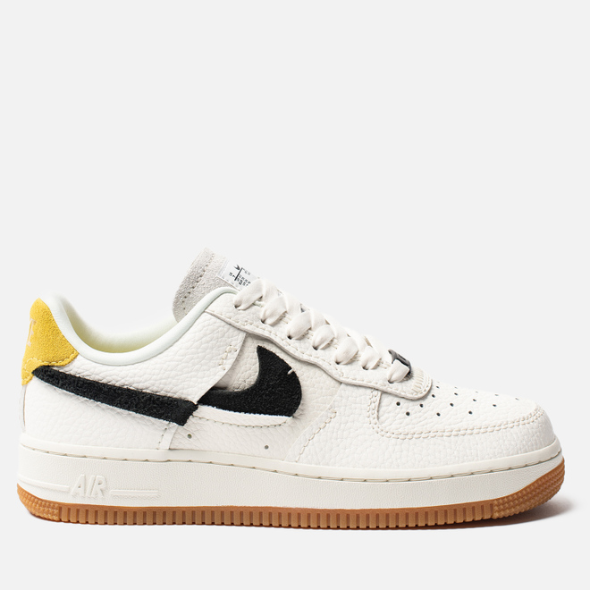 Женские кроссовки Nike Air Force 1 '07 LXX Sail/Black/Chrome Yellow/White