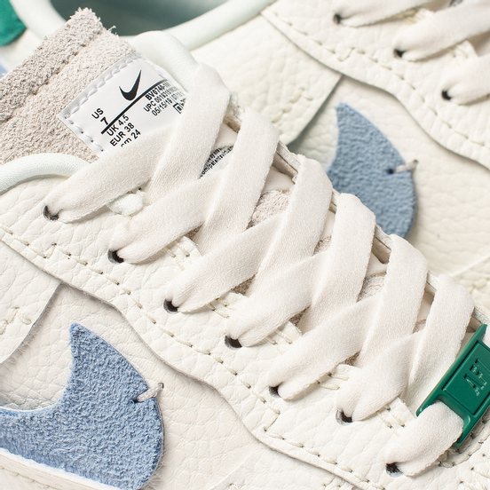 Женские кроссовки Nike Air Force 1 '07 LXX Sail/Mystic Green/Light Blue/White