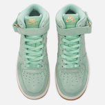 Женские кроссовки Nike Air Force 1 '07 Mid Seasonal Enamel Green/Metallic Gold Star/Sail фото- 4