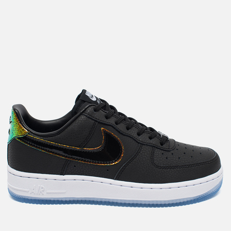 Женские кроссовки Nike Air Force 1 '07 Premium Black/Pure Platinum