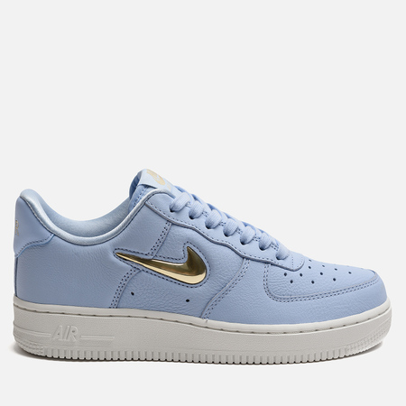 Женские кроссовки Nike Air Force 1 '07 Premium LX Royal Tint/Metallic Gold Star/Summit White