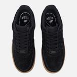 Женские кроссовки Nike Air Force 1 '07 SE Black/Black/Gum Medium Brown/Ivory фото- 4