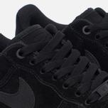 Женские кроссовки Nike Air Force 1 '07 SE Black/Black/Gum Medium Brown/Ivory фото- 5