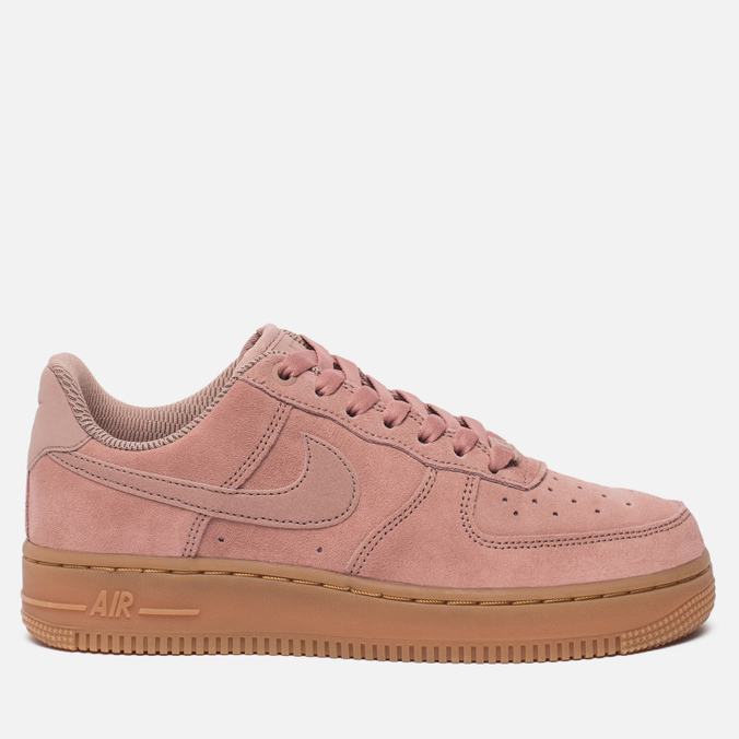 755f67ad Женские кроссовки Nike Air Force 1 '07 SE Particle Pink/Particle Pink/Gum  ...