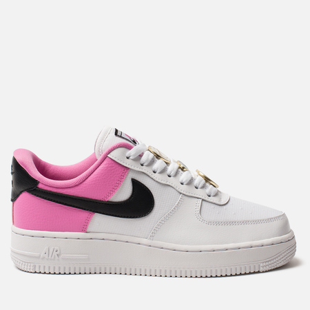 Женские кроссовки Nike Air Force 1 '07 SE White/Black/China Rose