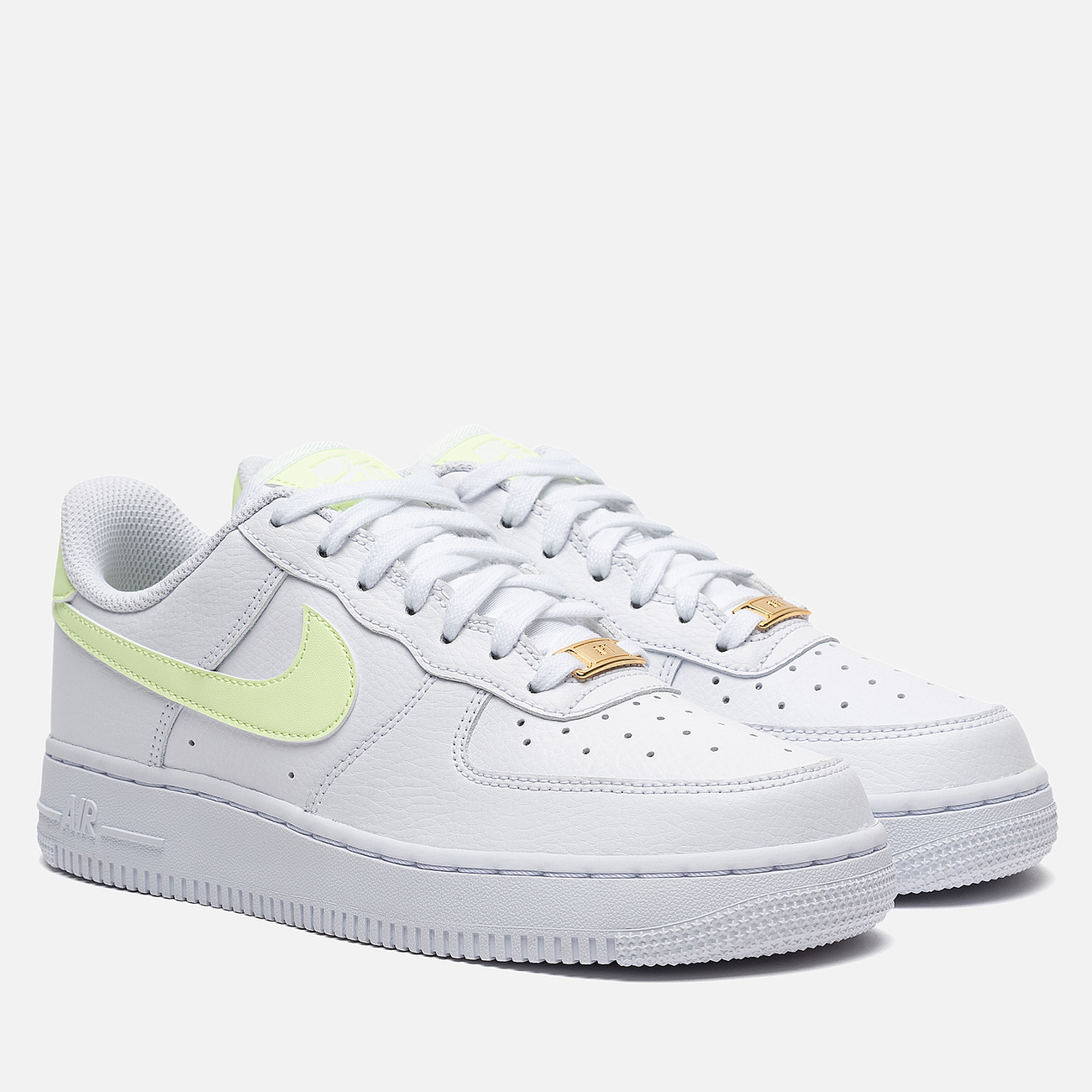 Женские кроссовки Nike Air Force 1 '07 White/Barely Volt/White/White